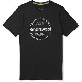 Smartwool Merino Sport 150 Go Far Feel Good Camiseta Manga Corta Hombre, black